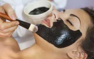 Рецепт черной маски для лица от черных точек с фото и видео