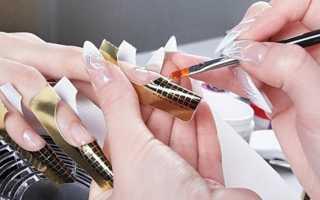 Технология и пошаговая инструкция наращивания ногтей на формах с фото и видео