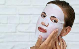 Лучшие рецепты тканевых масок для лица с фото и видео