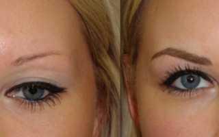 Отзывы о татуаже бровей с фото до и после