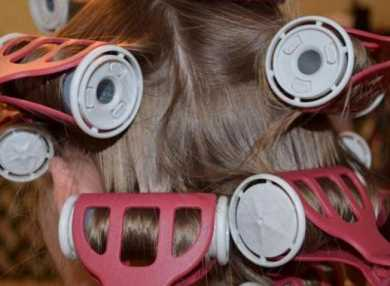 Как правильно накрутить волосы на бигуди Валера (Valera)