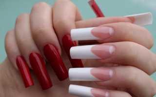 Актуальный дизайн для наращенных ногтей с видео и фото