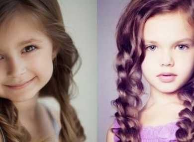 Как делать детские прически на длинные волосы
