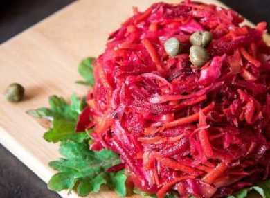 Салат «Щетка» для похудения: полезные свойства, как применять