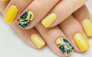 Самый красивый маникюр с бабочками с фото и видео