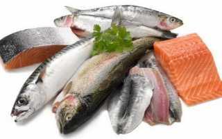 Калорийность рыбы: большая таблица различных вариантов приготовления
