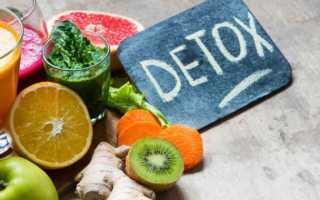 Детокс-диета: основные правила и отзывы
