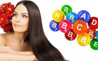 Лучшие витамины для укрепления волос