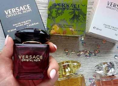 Женские духи Версаче с описанием ароматов и отзывами