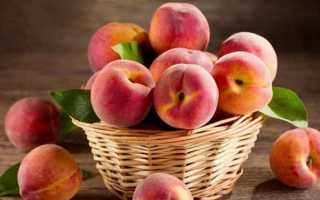 Какая калорийность персика и сколько его можно есть