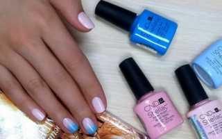 Эффектный градиент на ногтях гель-лаком с фото и видео