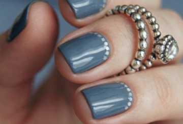 Эффектный гель-лак на короткие ногти, с фото и видео