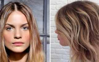 Как сделать шатуш на светлые волосы