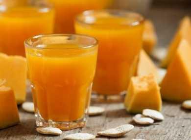 Тыквенный сок: как пить, польза и вред
