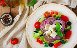 Какая калорийность греческого салата и как его употреблять