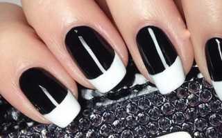 Дизайн-решения для черно-белых ногтей с фото и видео