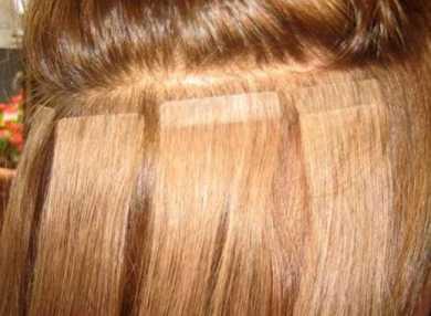 Ленточное наращивание волос с фото и видео