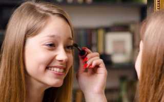 Техника и виды макияжа в школу с фото и видео