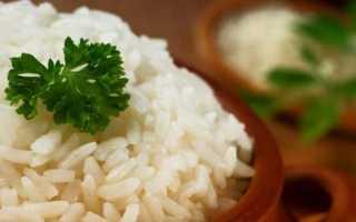 Все о калорийности риса