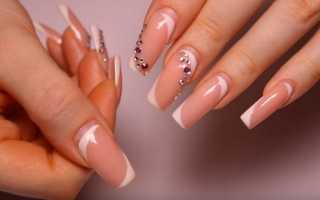 Технология и пошаговая инструкция коррекции наращенных ногтей с фото и видео