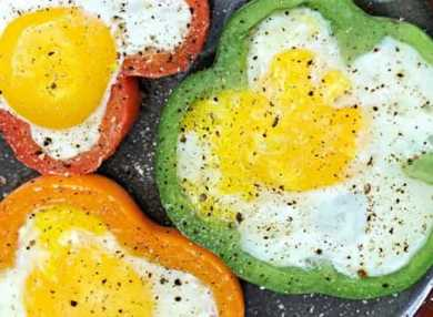 Калорийность яичницы и ее польза