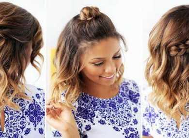 Как делать прически на короткие волосы на каждый день