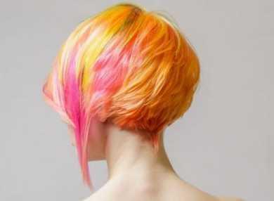 Креативное окрашивание волос с фото и видео