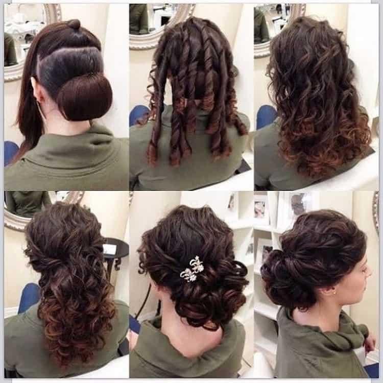 Как делать прически на средние волосы в домашних условиях
