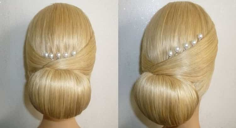 Как делать прически самой себе на средние волосы