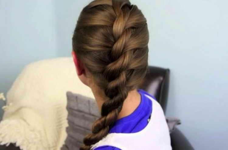 косы плетение прически фото