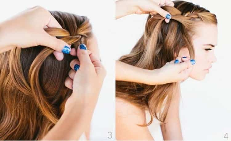 Прически с распущенными волосами для подростков