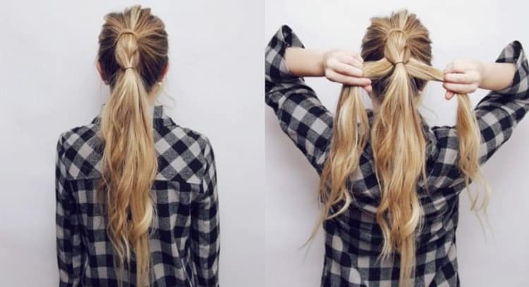 Красивые прически на распущенные волосы с плетением