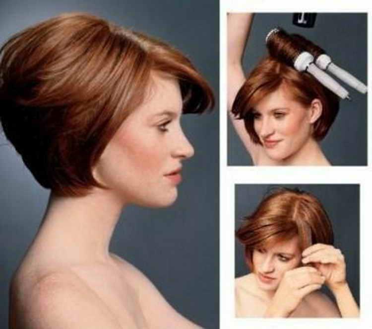 легкие повседневные прически на средние волосы