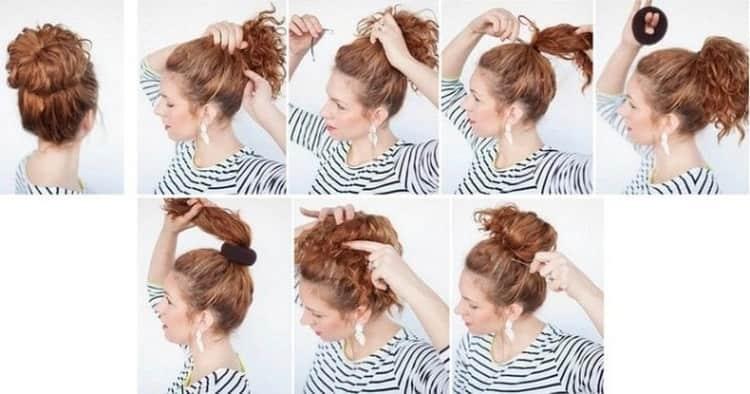 Как делается прически на длинные волосы с бабеттой