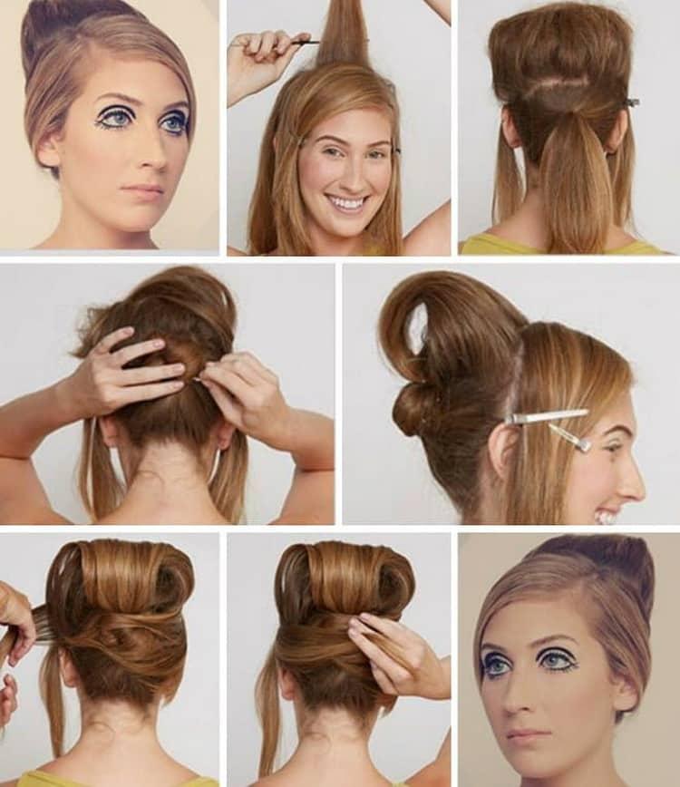 Все о том как делать прически на длинные волосы с бабеттой