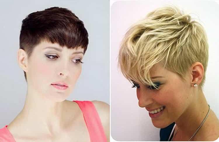 Как делается стрижка пикси на средние волосы фото