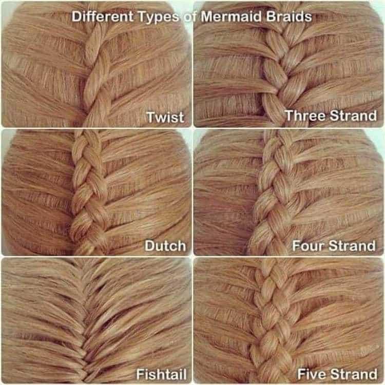 Посмотрите также разные варианты плетения этой прически.