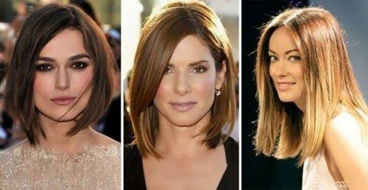 Узнайте, какие прически подходят для квадратного типа лица.