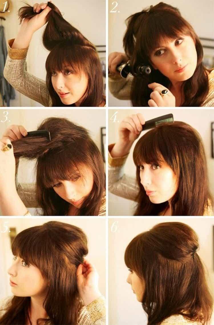 Красивые прически на волосы до плеч можно сделать очень легко.