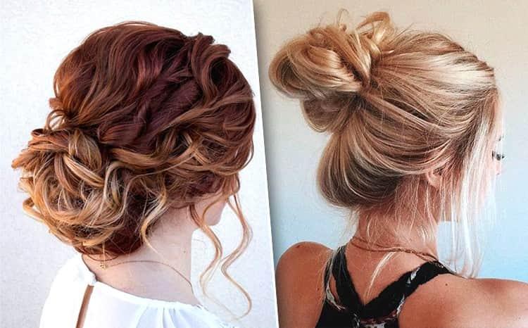 Вот хороший вариант прически с собранными волосами на каждый день.
