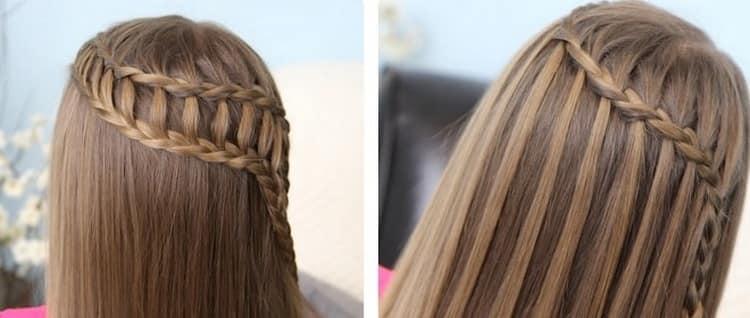 Виды женских причесок с плетением