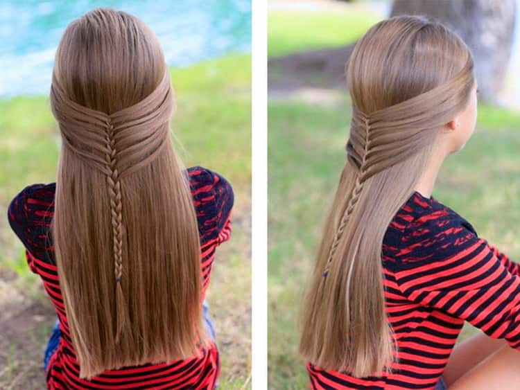 Виды причесок на длинные волосы