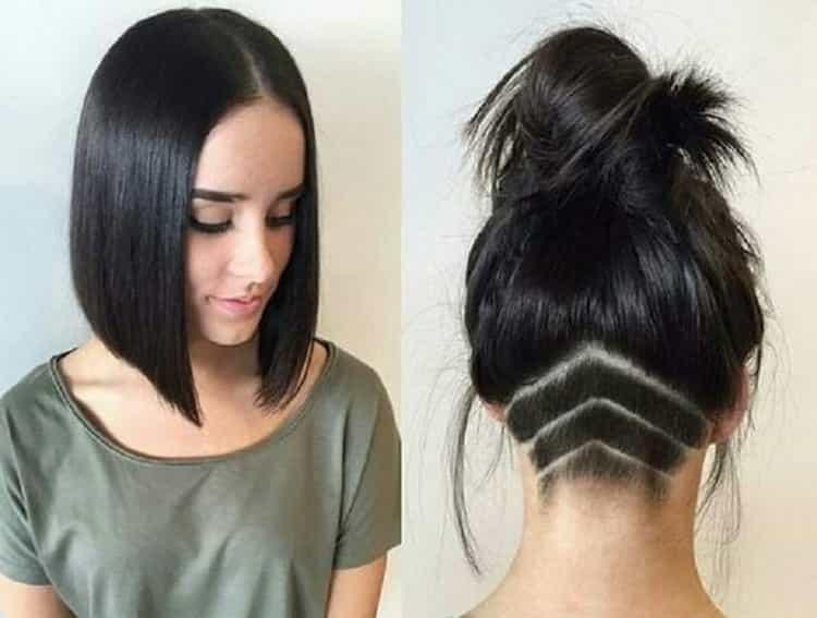 Как делается женская стрижка андеркат на короткие волосы