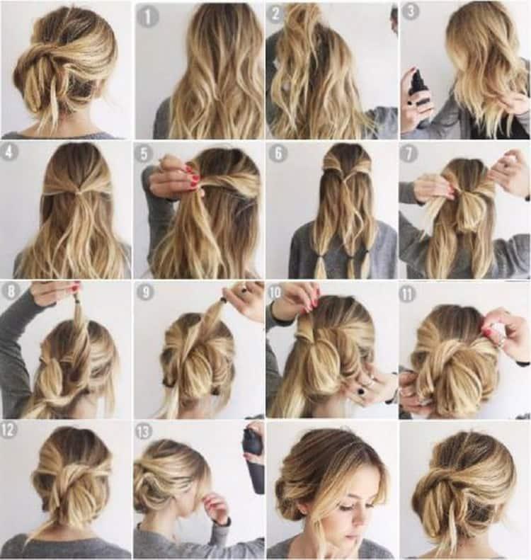 Как делается стрижка лесенка на длинные волосы фото