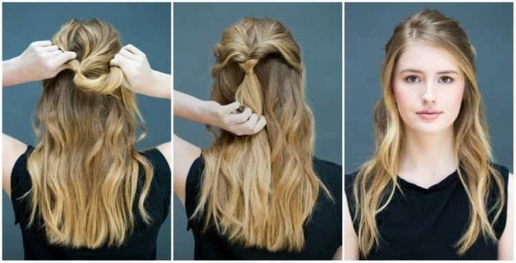 виды причесок женских на средние волосы