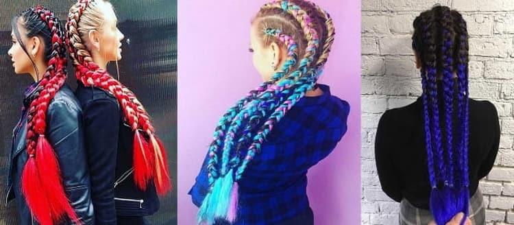 Виды причесок с плетением для подростков