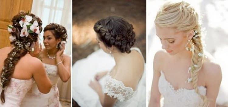 Свадебные виды причесок для женщин
