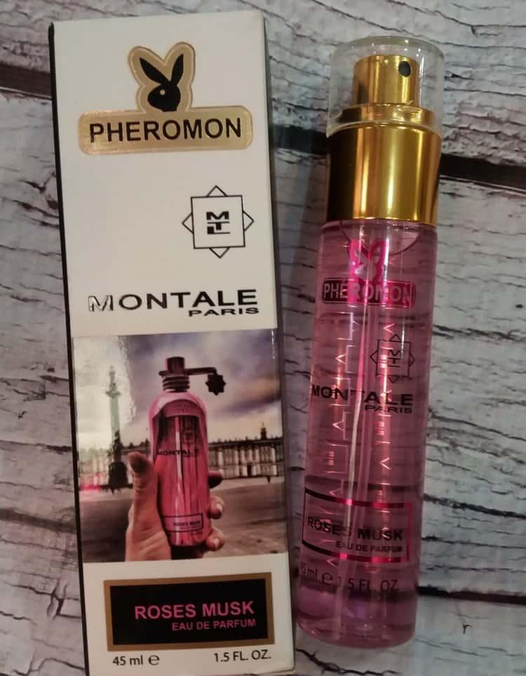 Духи с феромонами для женщин выпустил даже известный бренд Монталь.