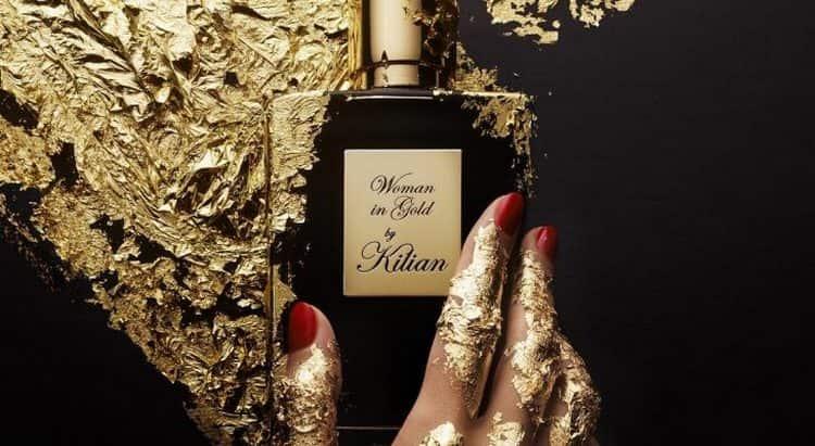 """Духи kilian woman in gold были созданы под впечатлением от картины """"Золотая Адель""""."""