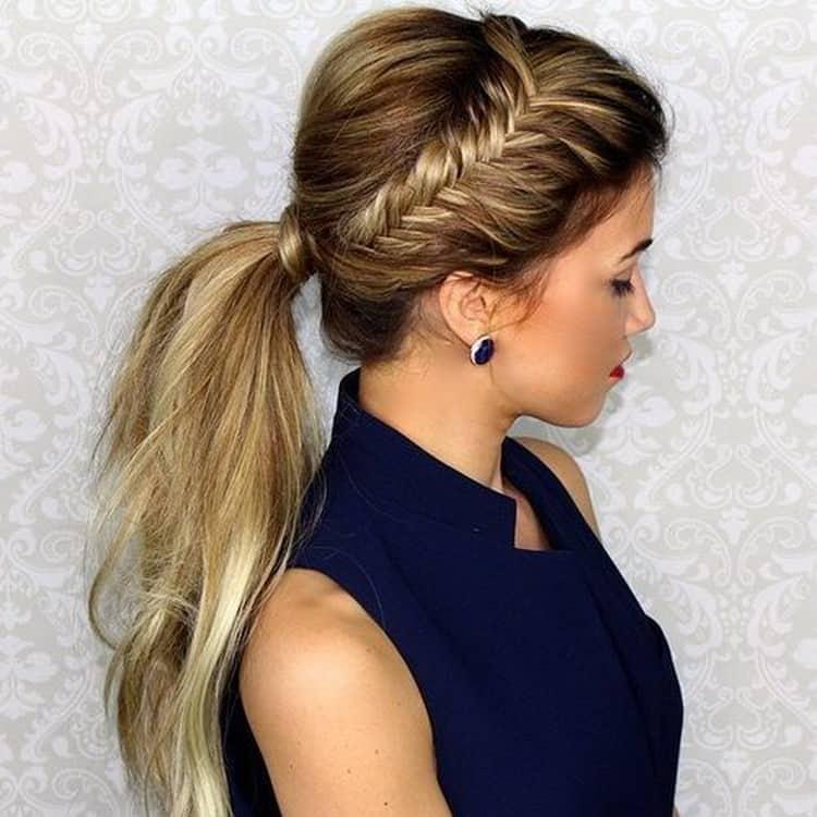 Красивые вечерние прически на тонкие волосы средней длины
